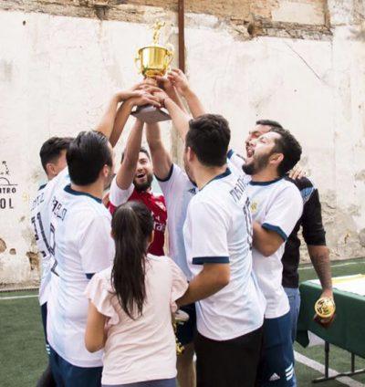 Fotografia Campeones liga masculina Centro Gol MX